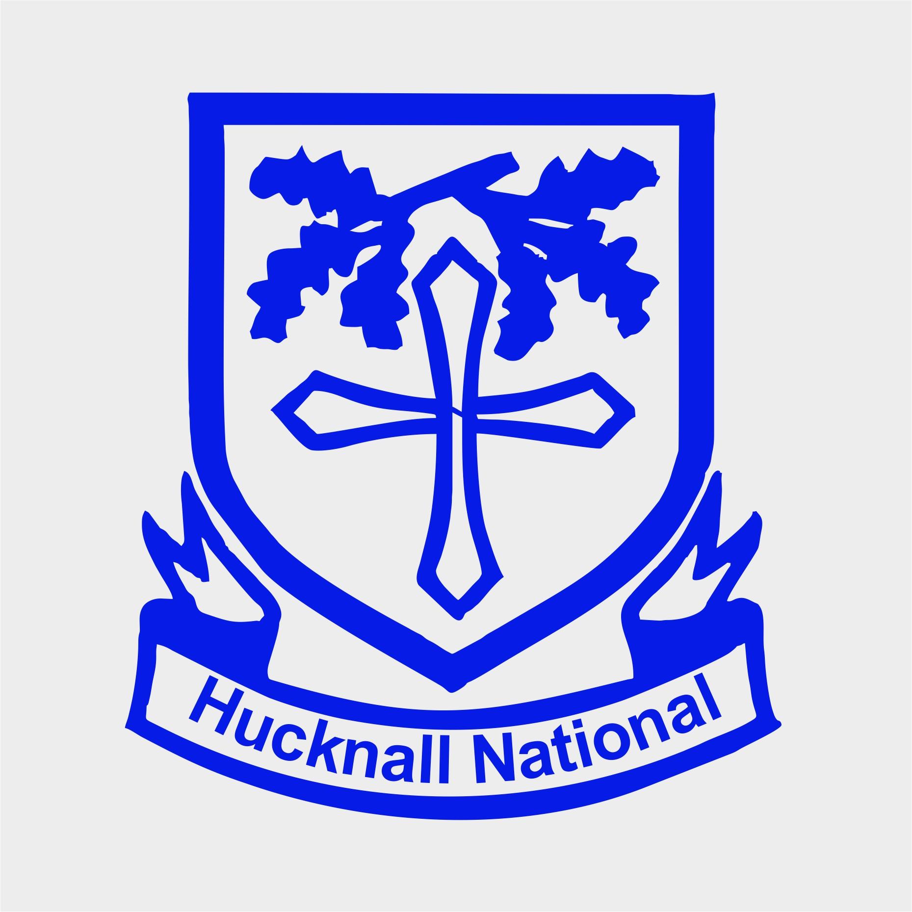 Hucknall National C of E Primary School logo.jpg