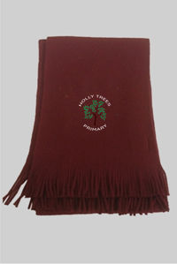 Holly Trees Primary - Scarf Burgundy