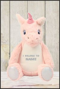 Mumbles - Zippie Unicorn with Personalised Name
