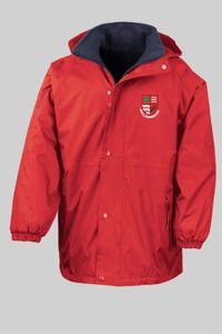 Willowbrook Primary - Reversible Fleece Jacket Red