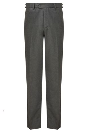 Boys Senior Trousers Regular Fit - Grey