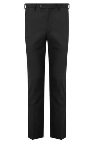 Boys Senior Trousers Slim Fit - Black