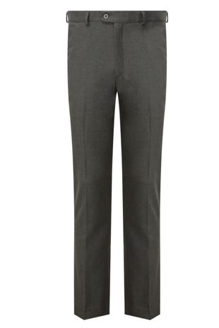 Boys Senior Trousers Slim Fit - Grey
