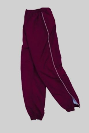 Dame Tipping Primary - Tracksuit Bottoms Burgundy