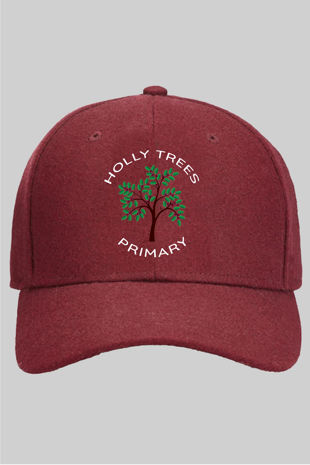 Holly Trees Primary - Cap Burgundy