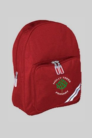 Holly Trees Primary - Small Rucksack Burgundy