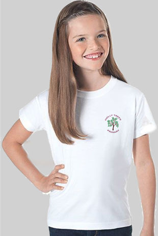 Holly Trees Primary - P.E T-Shirt White