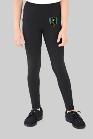 Shenfield High School  *NEW YEAR 7 2020* - Dance Leggings (Optional) Black