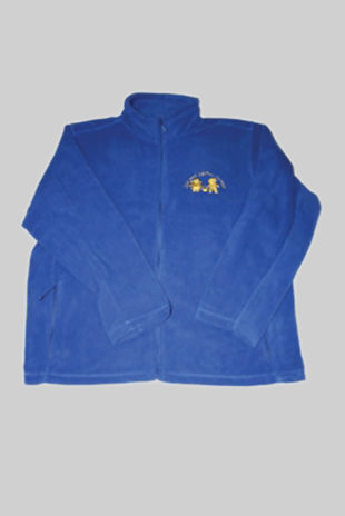Jack & Jill Preschool - Childs Fleece Royal Blue