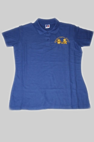 Jack & Jill Preschool - Childs Polo Shirt Royal Blue