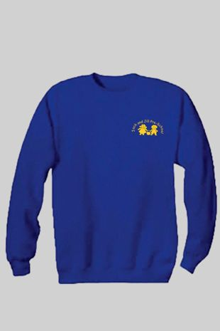 Jack & Jill Preschool - Staff Unisex Sweatshirt Royal Blue