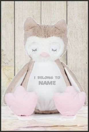 Personalised Mumbles Zippie Owl