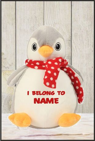 Mumbles - Zippie Penguin With Personalised Name