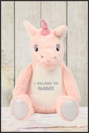 Mumbles - Zippie Unicorn with Personalised Name