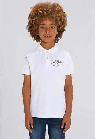 New Mill Infants & Juniors - Polo Shirt White
