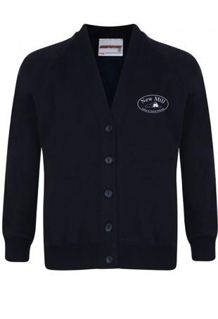 New Mill Infants & Juniors - Sweatshirt Cardigan Navy