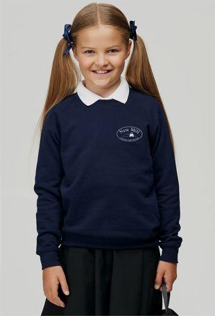 New Mill Infants & Juniors - Sweatshirt Navy