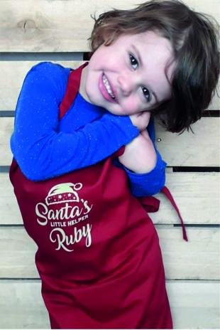 Personalised Santas Little Helper Apron