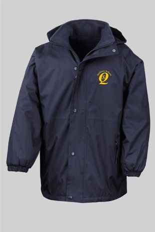 Quilters - Reversible Fleece Jacket Navy