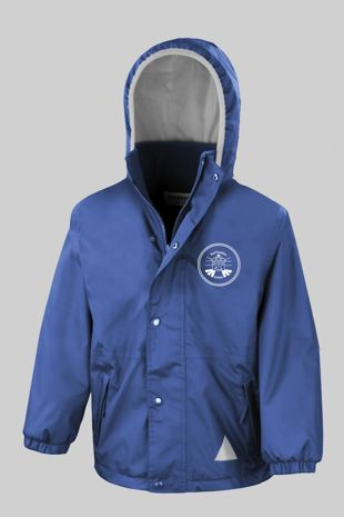 Rettendon Primary School - Reversible Fleece Jacket Royal Blue