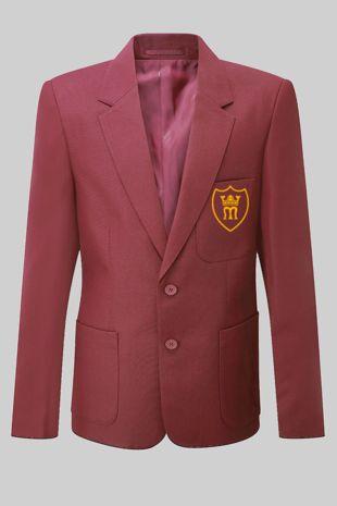 St Marys Primary - Juniors Boys Blazer Burgundy