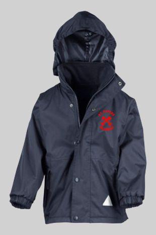 St Peters Billericay - Staff  Reversible Fleece Jacket Navy