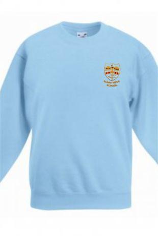 Sunnymede Juniors - P.E Sweatshirt Sky Blue