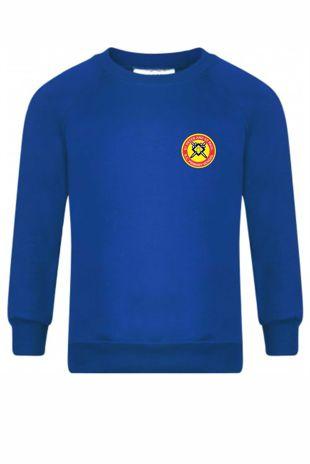 St Peter and St Paul - Sweatshirt Royal Blue