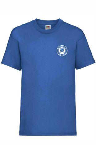St Peter and St Paul - PE T-shirt Royal Blue