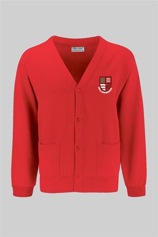 Willowbrook Primary -  Sweatshirt Cardigan Red