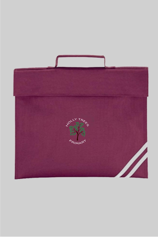 Holly Trees Primary - Book Bag Burgundy