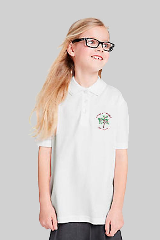 Holly Trees Primary - Polo White