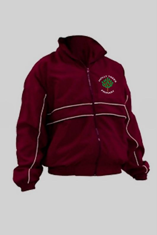 Holly Trees Primary - Tracksuit Jacket Burgundy