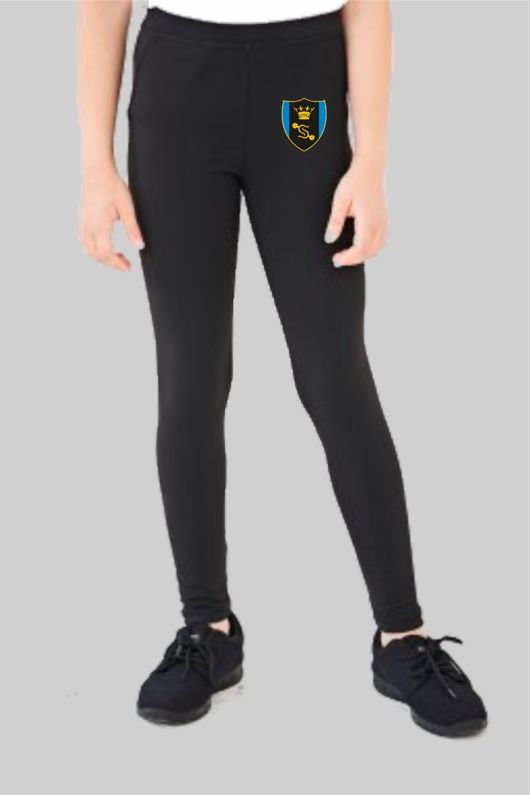 Shenfield High School  *NEW YEAR 7 2020* - Dance Leggings (Optional) Black