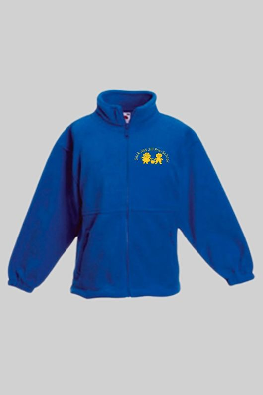 Jack & Jill Preschool - Staff  Unisex Fleece Royal Blue