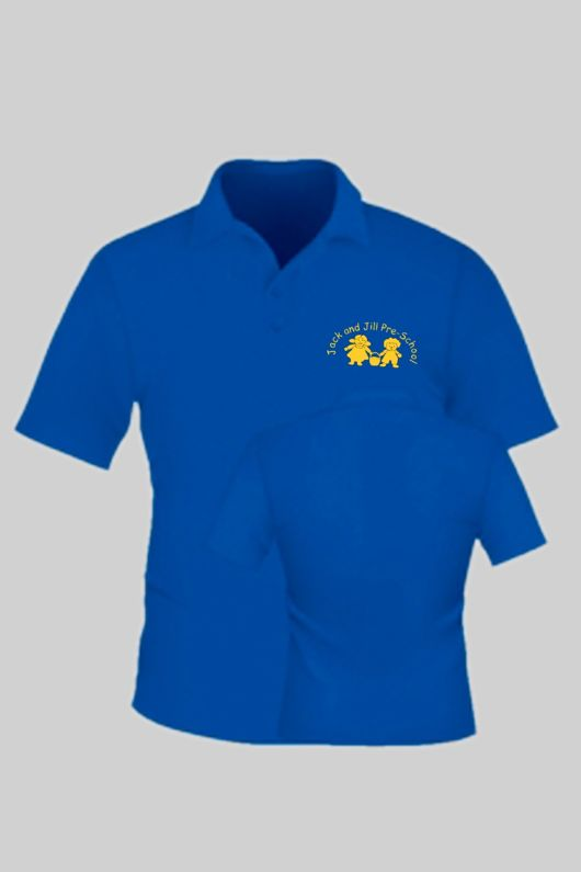 Jack & Jill Preschool - Staff Unisex Polo Shirt Royal Blue