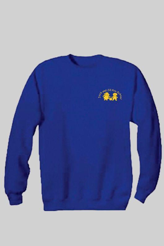 Jack & Jill Preschool - Staff Unisex Sweatshirt Royal Blue