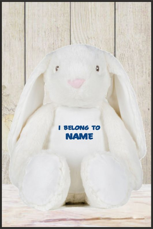 Mumbles - Zippie Bunny With Personalised Name