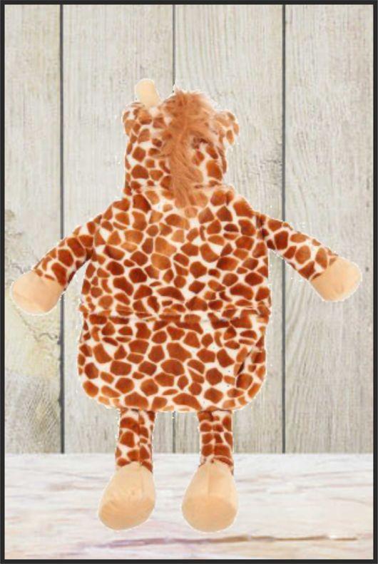 Personalised Giraffe Hot Water Bottle Cover