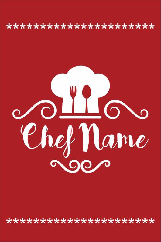 Personalised Childrens Chef Apron