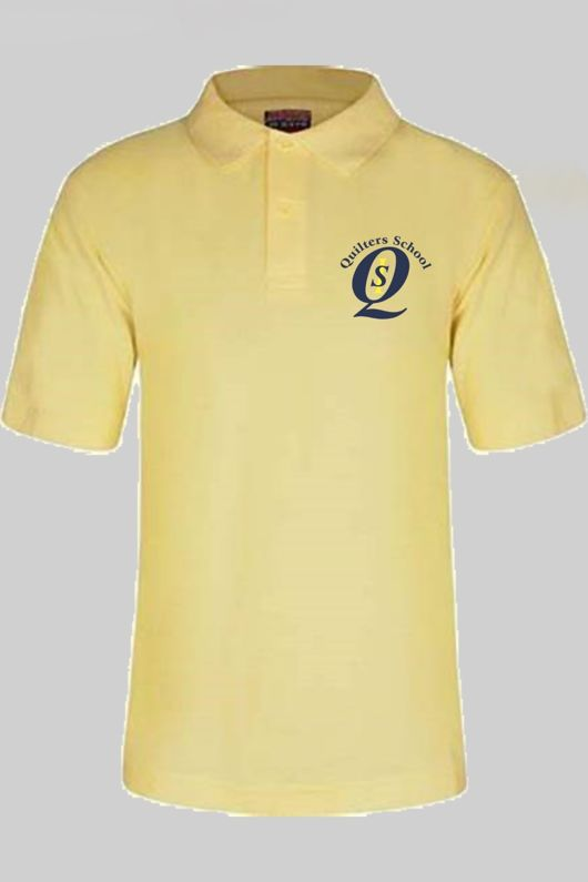 Quilters - Polo Shirt Yellow