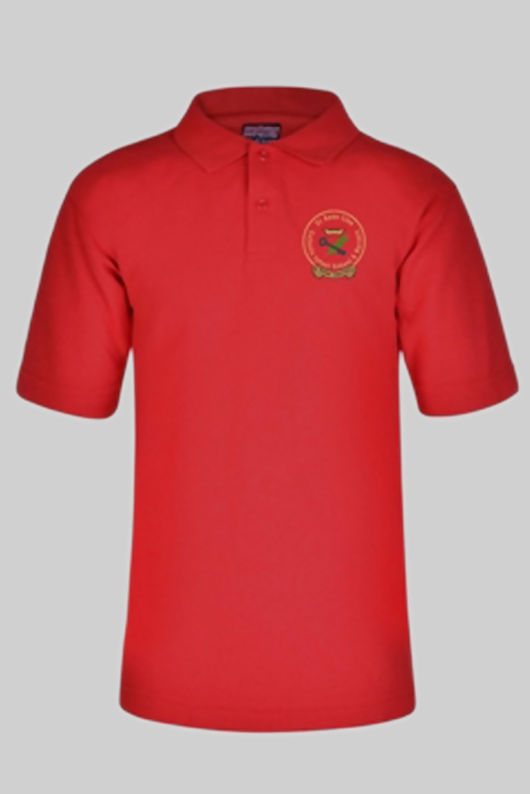 St Anne Line Infant School - Polo Shirt Red